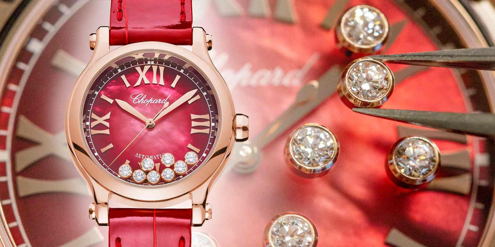 幸運數字「8」開啟迎春納福的吉祥寓意:蕭邦Happy Sport腕錶