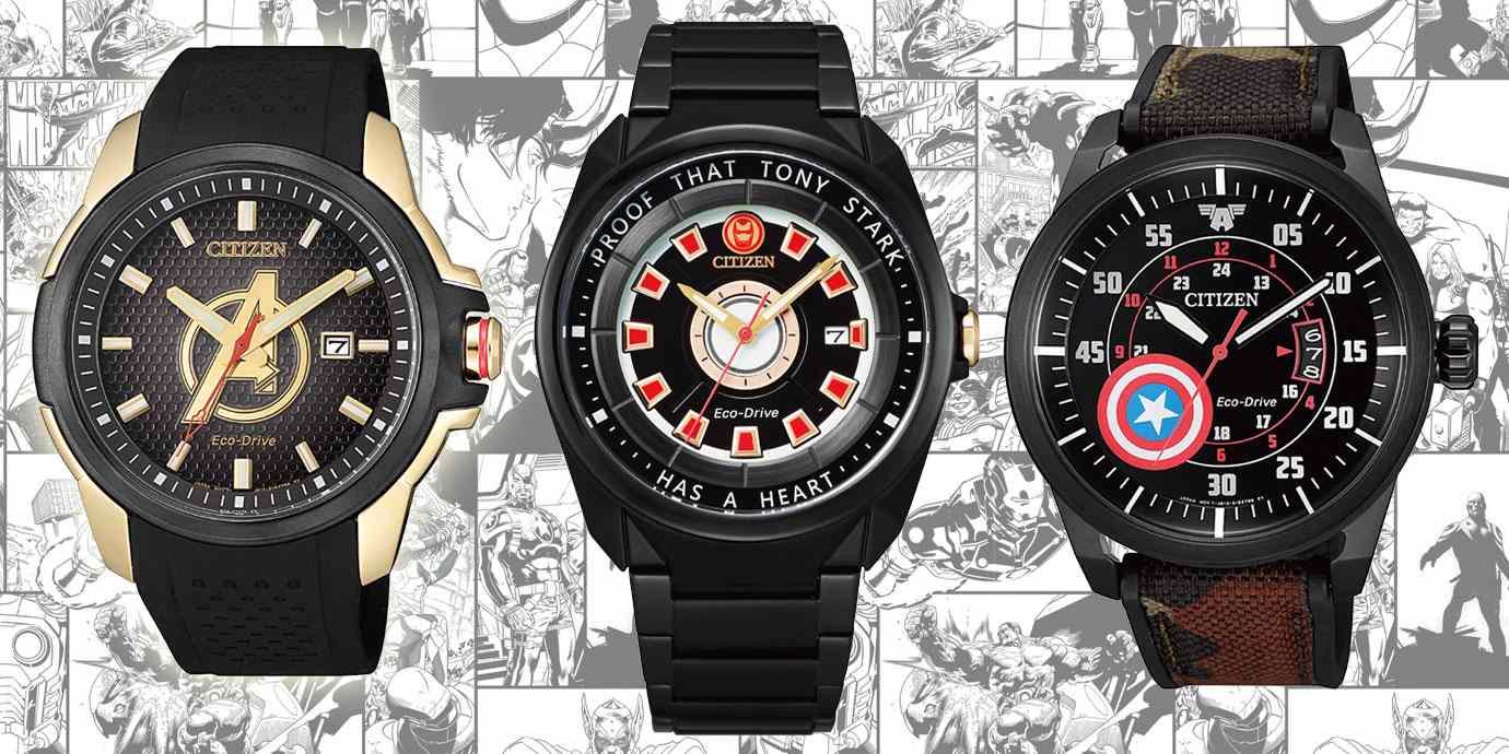 與《復仇者聯盟》一齊開工:CITIZEN漫威系列聯名腕錶