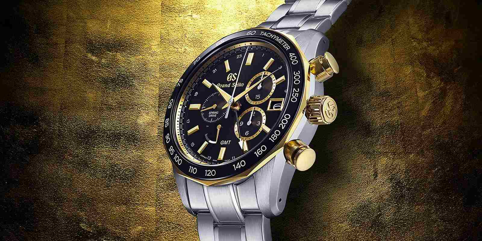 【2021線上錶展】黃金閃光!Grand Seiko全新Spring Drive GMT計時腕錶