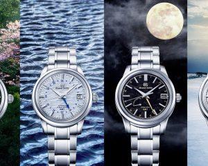 【2021線上錶展】閱讀時間與節氣之美:Grand Seiko全新GMT腕錶
