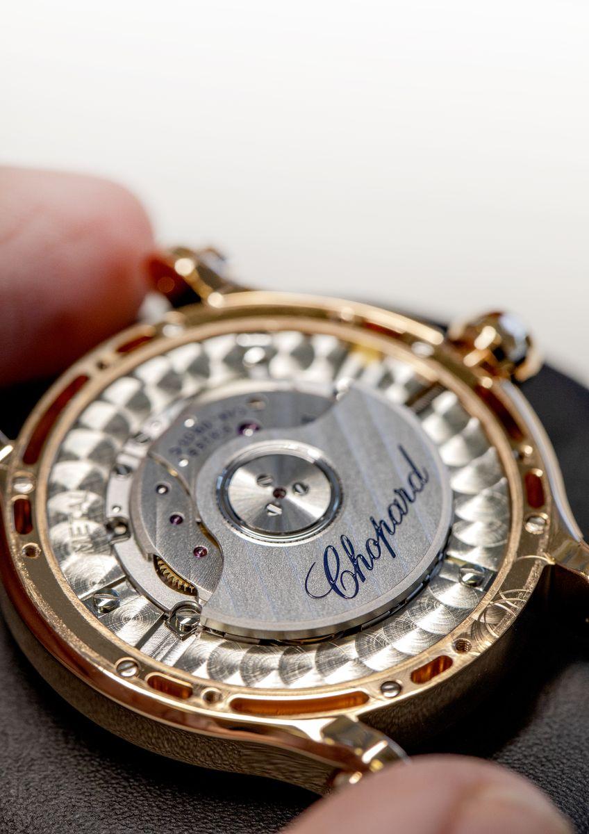 蕭邦錶廠自製機芯09.01-C型機芯