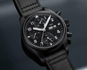 復刻品牌首款陶瓷飛行員腕錶:IWC飛行員系列Black Flieger特別版