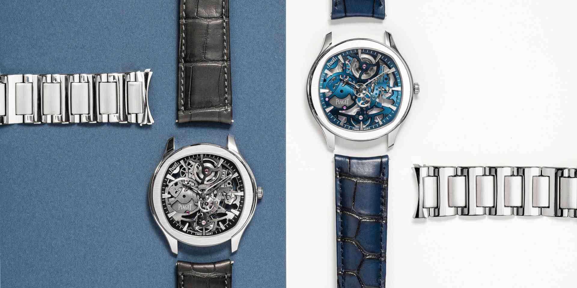 奢華運動的超然新解:PIAGET伯爵呈現全新POLO系列鏤空超薄腕錶
