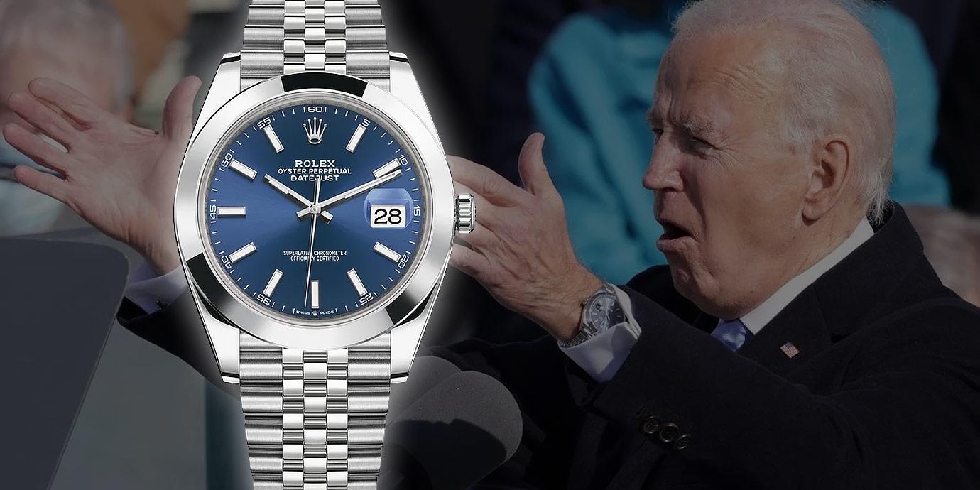 跟著美國總統拜登一起來認識Rolex Datejust的發展史