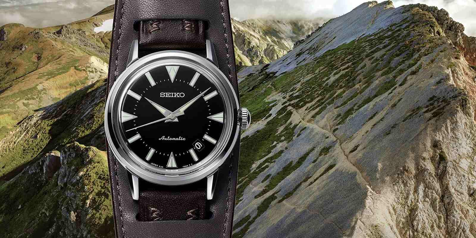 【2021線上錶展】以登山之名:Seiko Prospex The 1959 Alpinist復刻腕錶