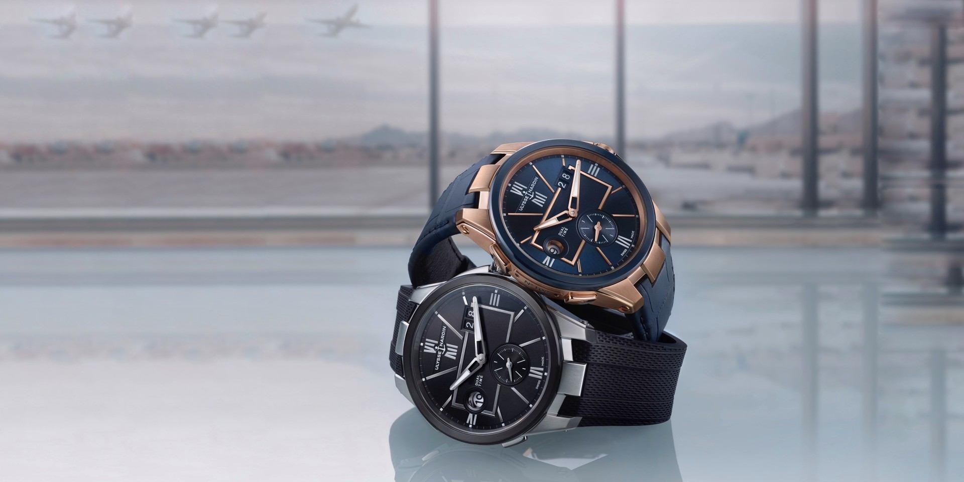 優雅前行的旅行者:雅典錶經理人雙時區42毫米腕錶