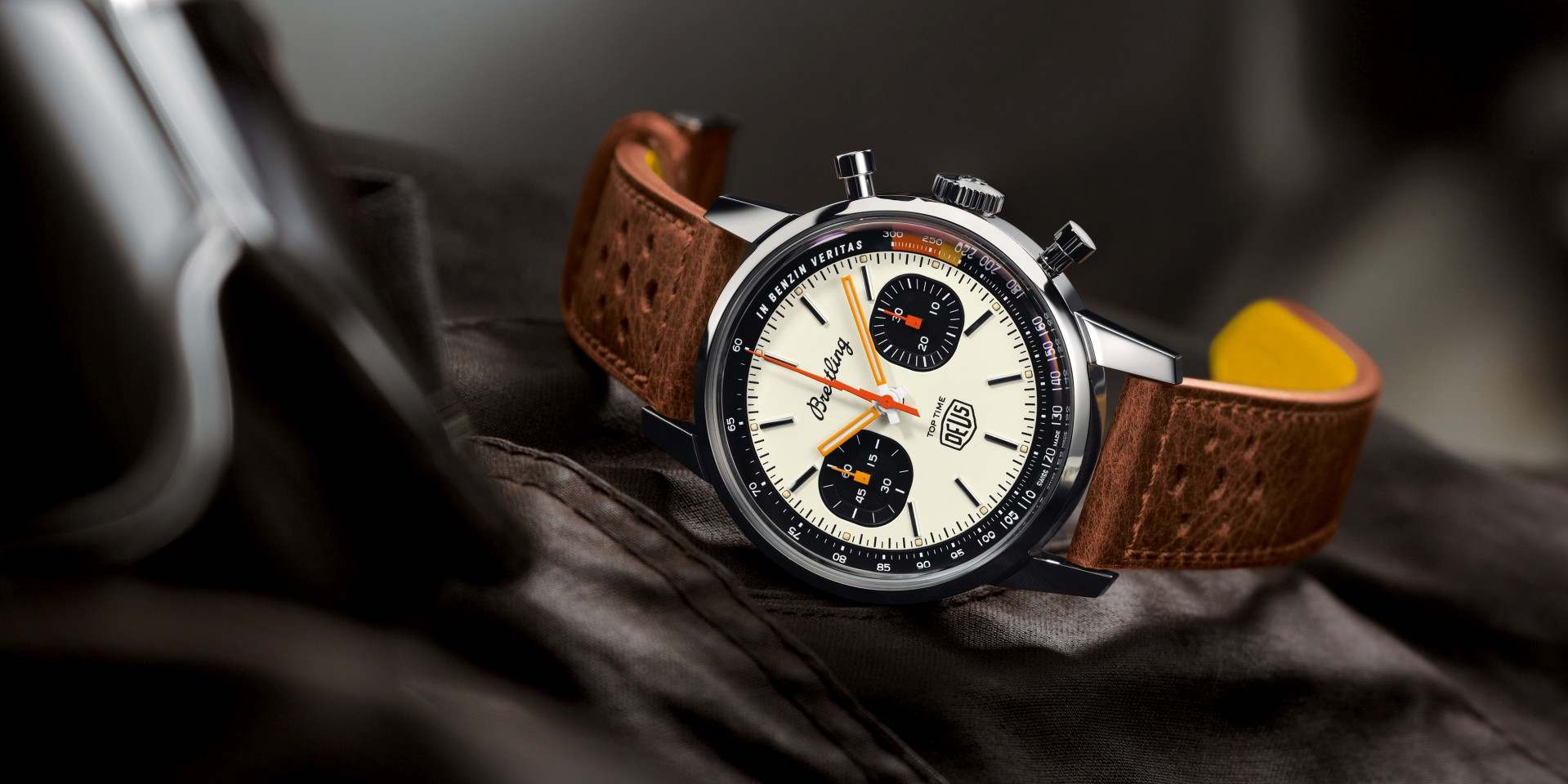百年靈與澳洲Lifestyle品牌 Deus Ex Machina 建立合作關係,推出Top Time Deus腕錶
