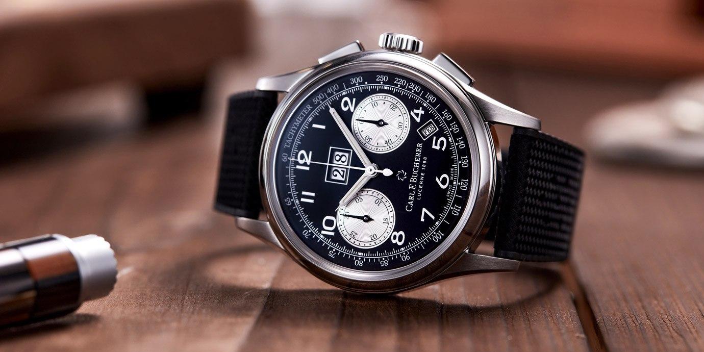 【2021線上錶展】經典雋永:寶齊萊傳承系列年曆雙盤計時碼錶