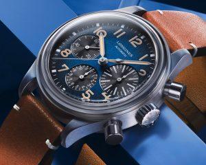 「大眼」新樣貌:Longines BigEye Titanium飛行錶