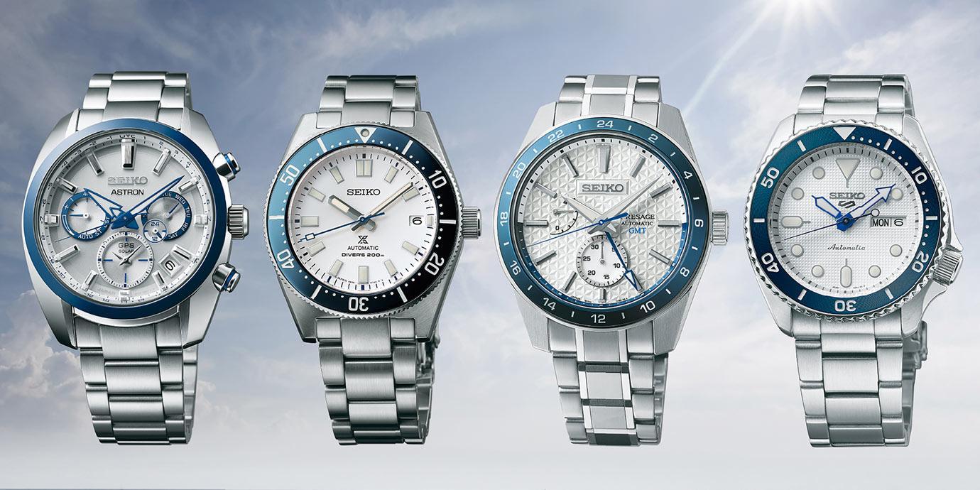 【2021線上錶展】科技感十足:Seiko 140週年紀念錶