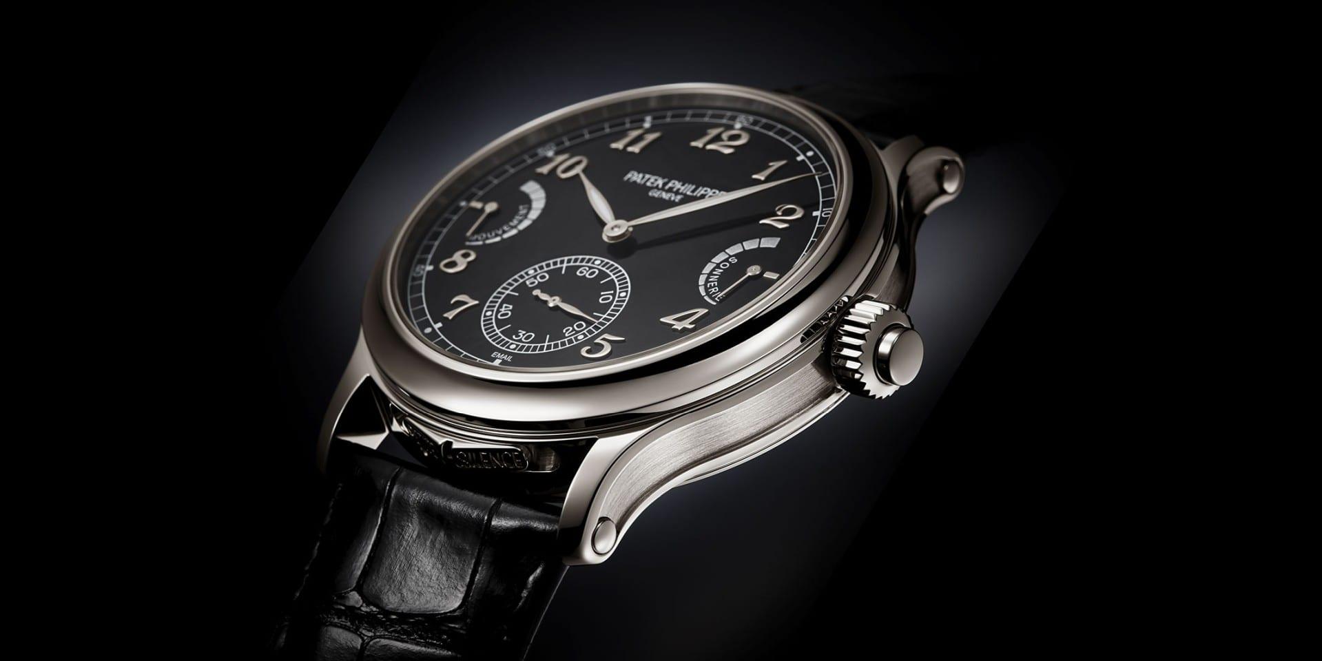 一鳴驚人:Patek Philippe大自鳴跳秒腕錶Grand Complications 6301P