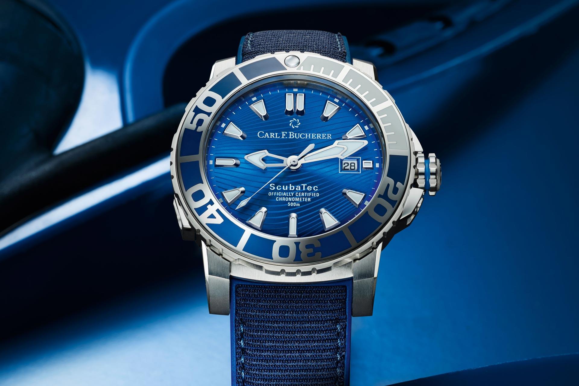 【2021線上錶展】為深潛探險而生:Carl F. Bucherer深潛腕錶馬爾地夫特別版