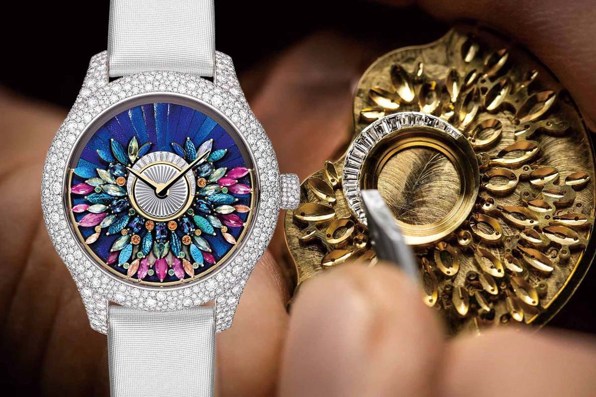 一花一世界:探索Dior高級製錶花園