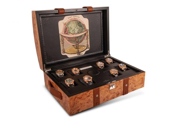 【2021線上錶展】疫情影響不能出國?Louis Moinet 8 Marvels of the World 腕錶帶您神遊世界八大奇觀