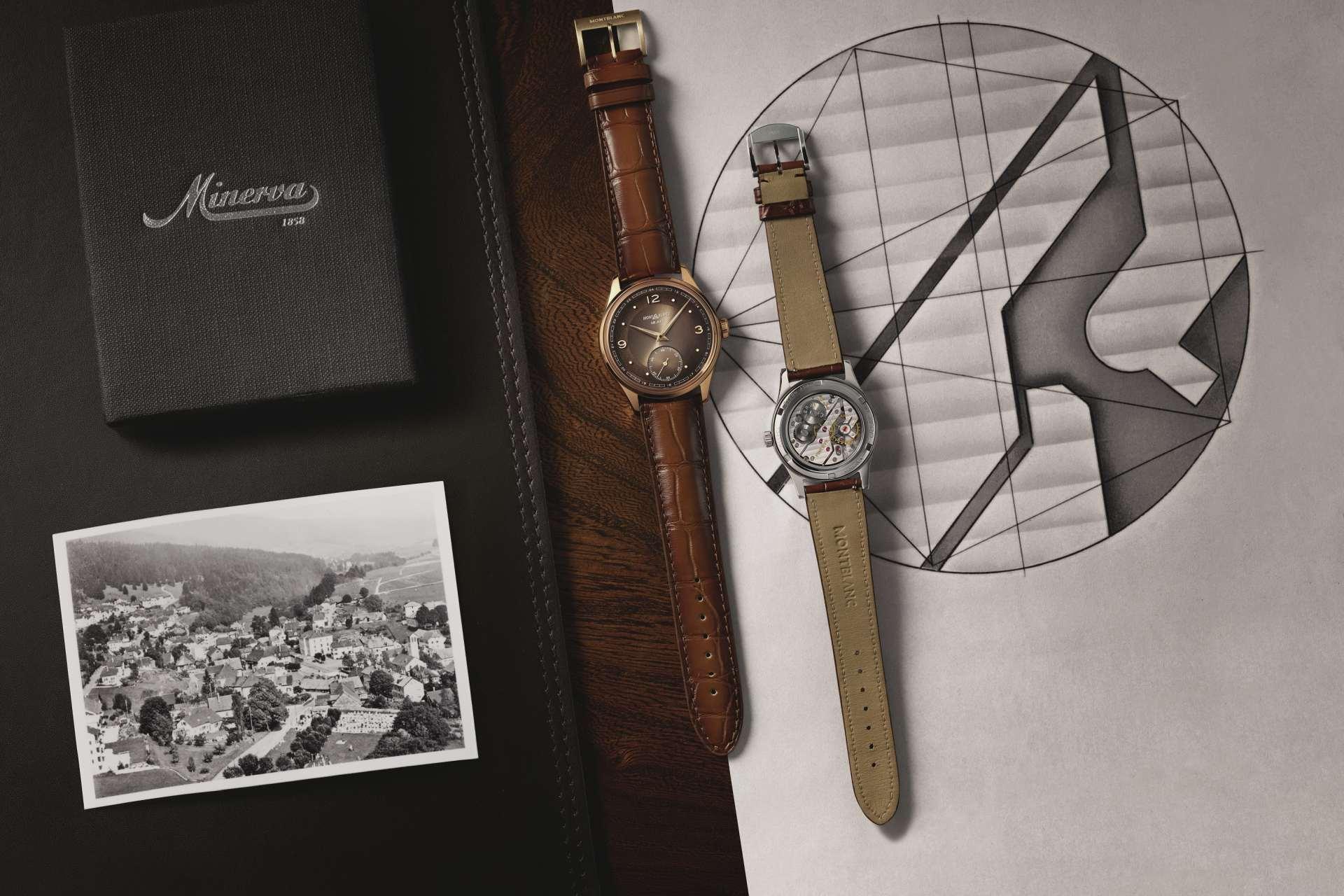 萬寶龍傳承系列Pythagore小秒盤腕錶限量款148,以全新機芯發揚Minerva歷史傳承