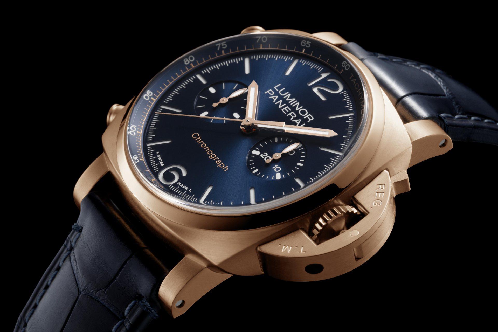 沛納海於上海「鐘錶與奇蹟」鐘錶展推出兩款嶄新Goldtech紅金腕錶