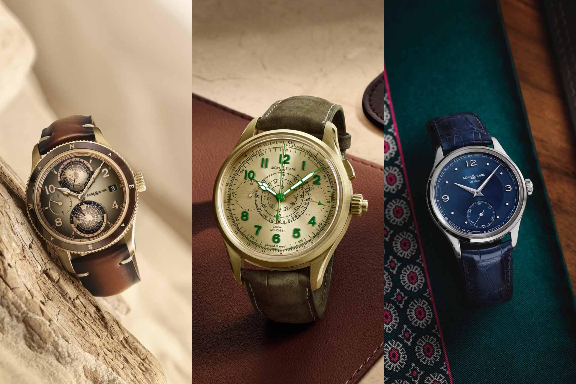【2021線上錶展】Montblanc從歷史探索未來