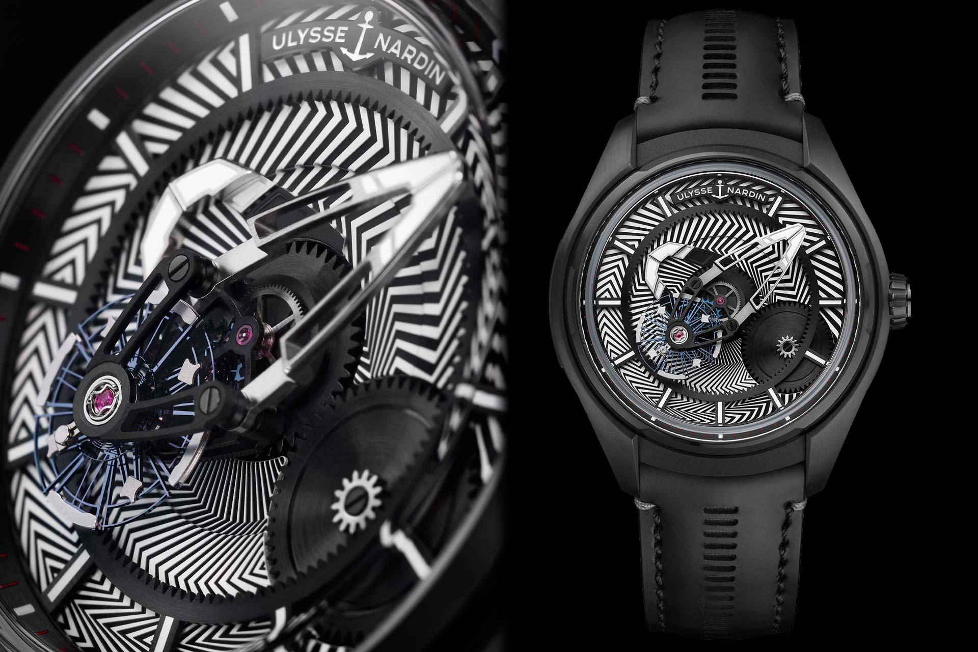 炫目魅力,矚目來襲:Ulysse Nardin Freak X Razzle Dazzle炫目迷彩腕錶