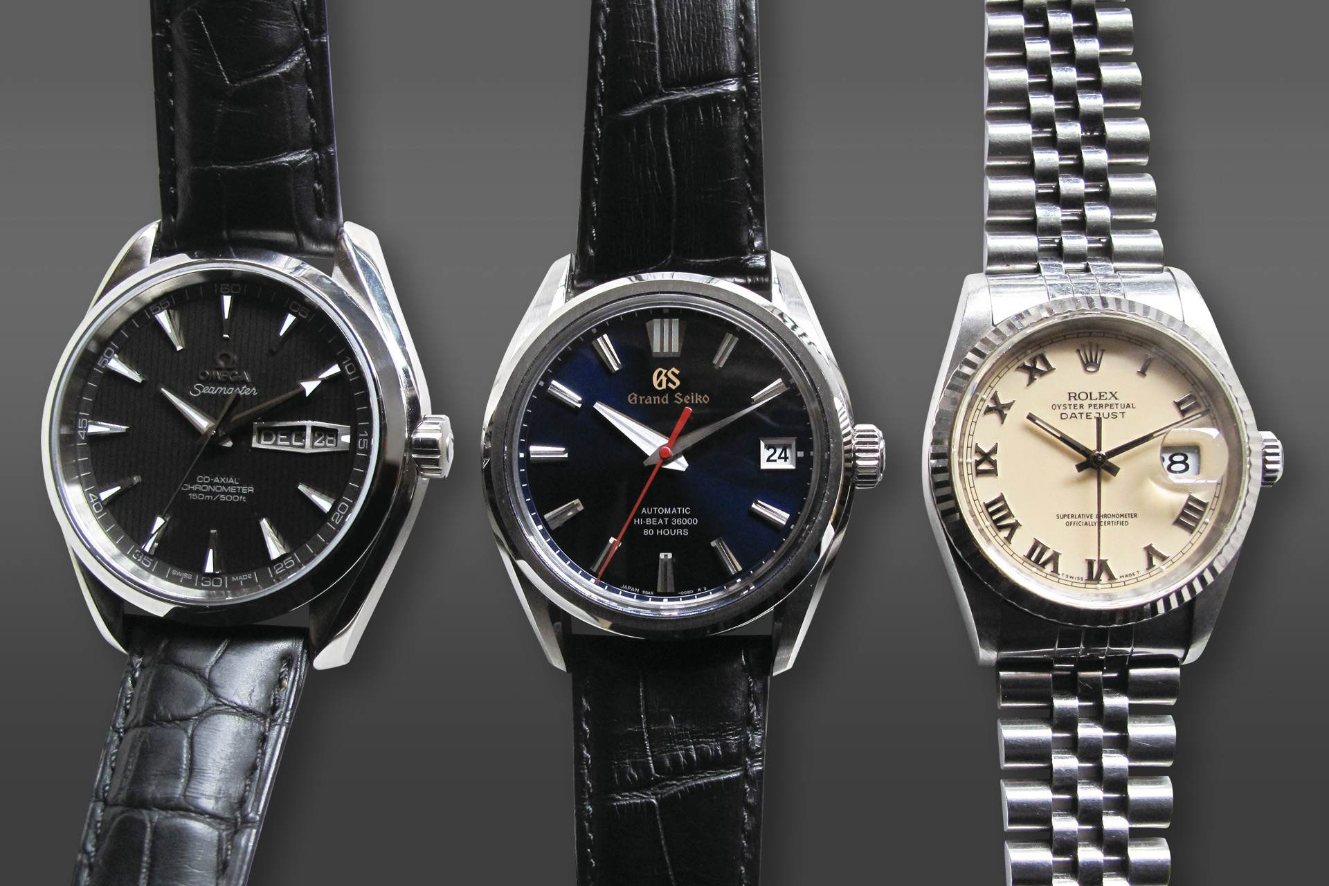 【曾士昕專欄】等量齊觀:三支錶 三顆芯