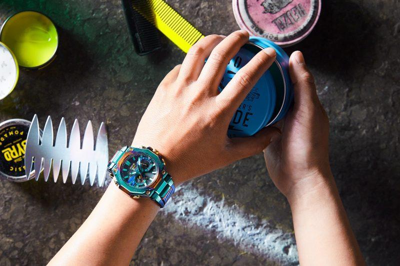 時間淬鍊後的浴火重生:CASIO G-SHOCK MTG-B2000PH-2A 藍鳳凰腕錶展翅高飛