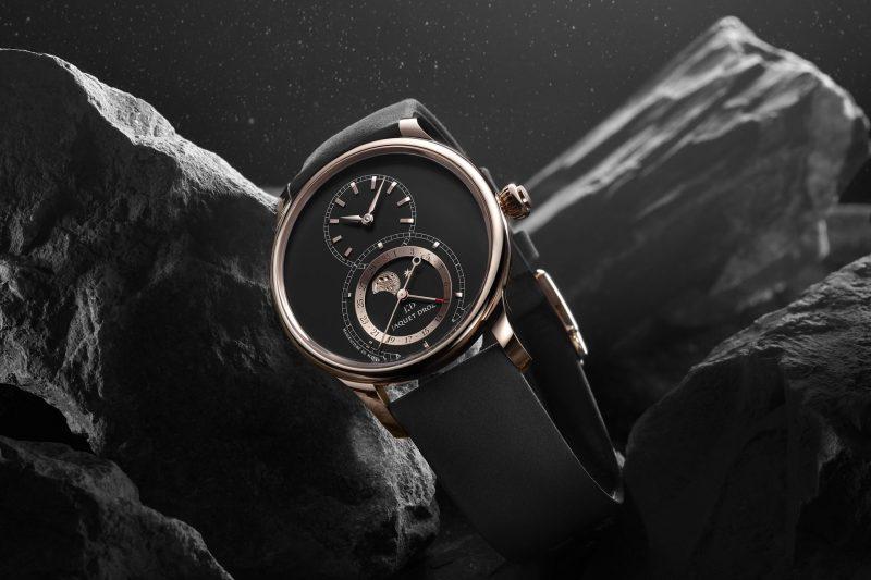 Pierre Jaquet-Droz誕辰300周年,雅克德羅發表全新41毫米Grande Seconde Moon大秒針月相腕錶