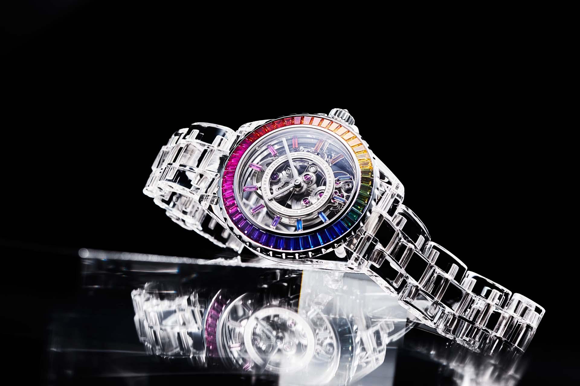 絢轉時光領潮流:J12 X-Ray Electro Caliber 3.1 腕錶