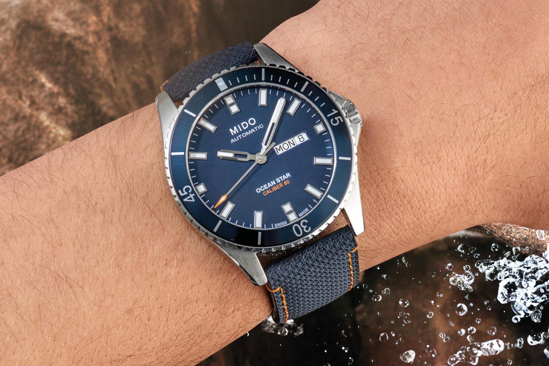 盡情體驗跳水樂趣:Mido Ocean Star紅牛懸崖跳水限量腕錶