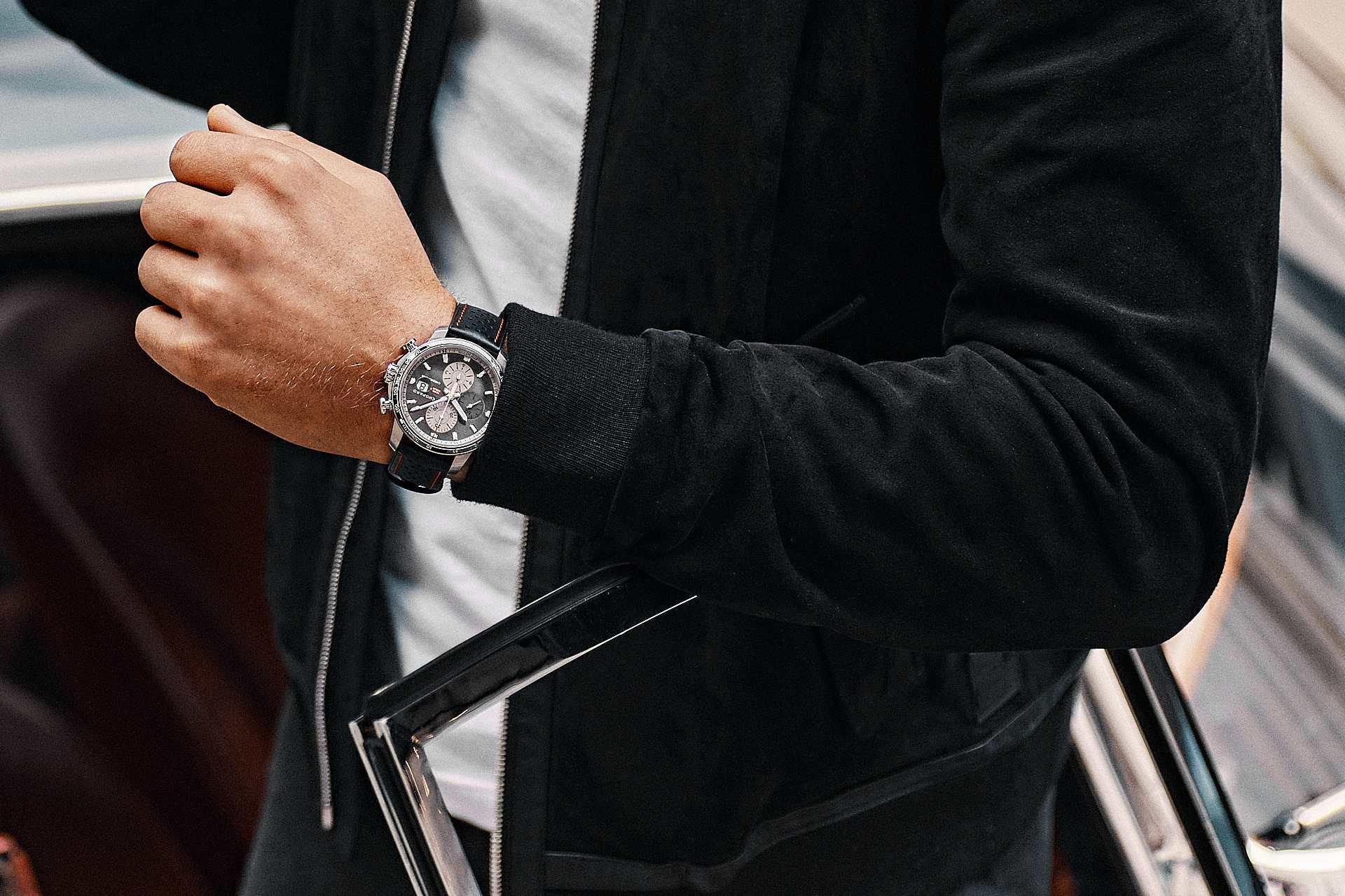 為紳士車手而設的計時碼錶:蕭邦 Mille Miglia 2021車賽限量版腕錶