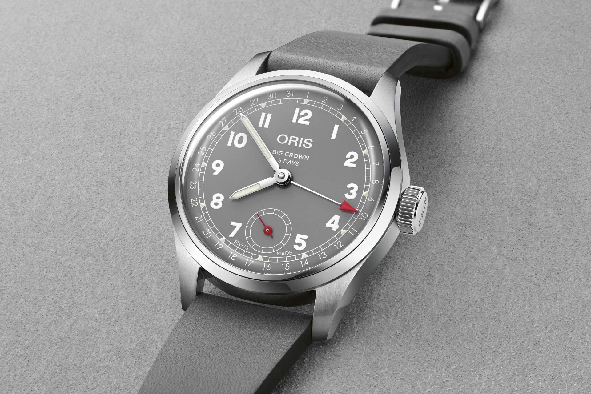 【2021線上錶展】慶祝117歲生日:Oris推出Hölstein 2021限量腕錶