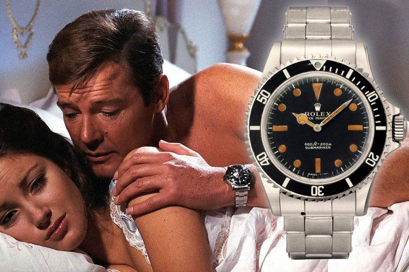 老牌龐德的腕上利器:Roger Moore於《007》系列電影亮相的腕錶