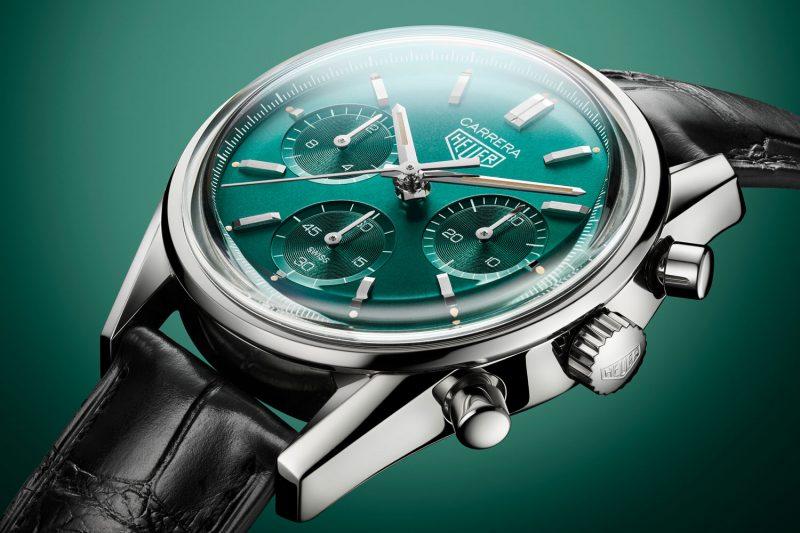 嶄新面貌:TAG Heuer Carrera綠面限量自動計時腕錶