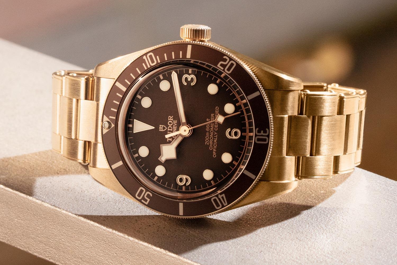 首款青銅鍊帶登場:Tudor Black Bay Fifty-Eight Bronze專賣店限定款