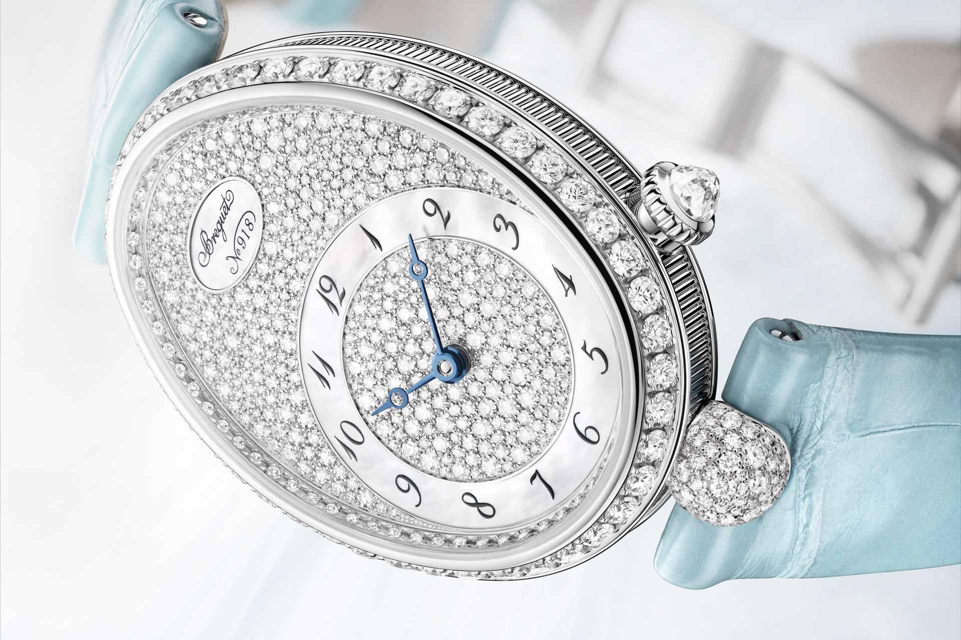 專寵女王的璀璨光彩:寶璣發表全新那不勒斯王后系列Reine de Naples 8938仕女鑽錶