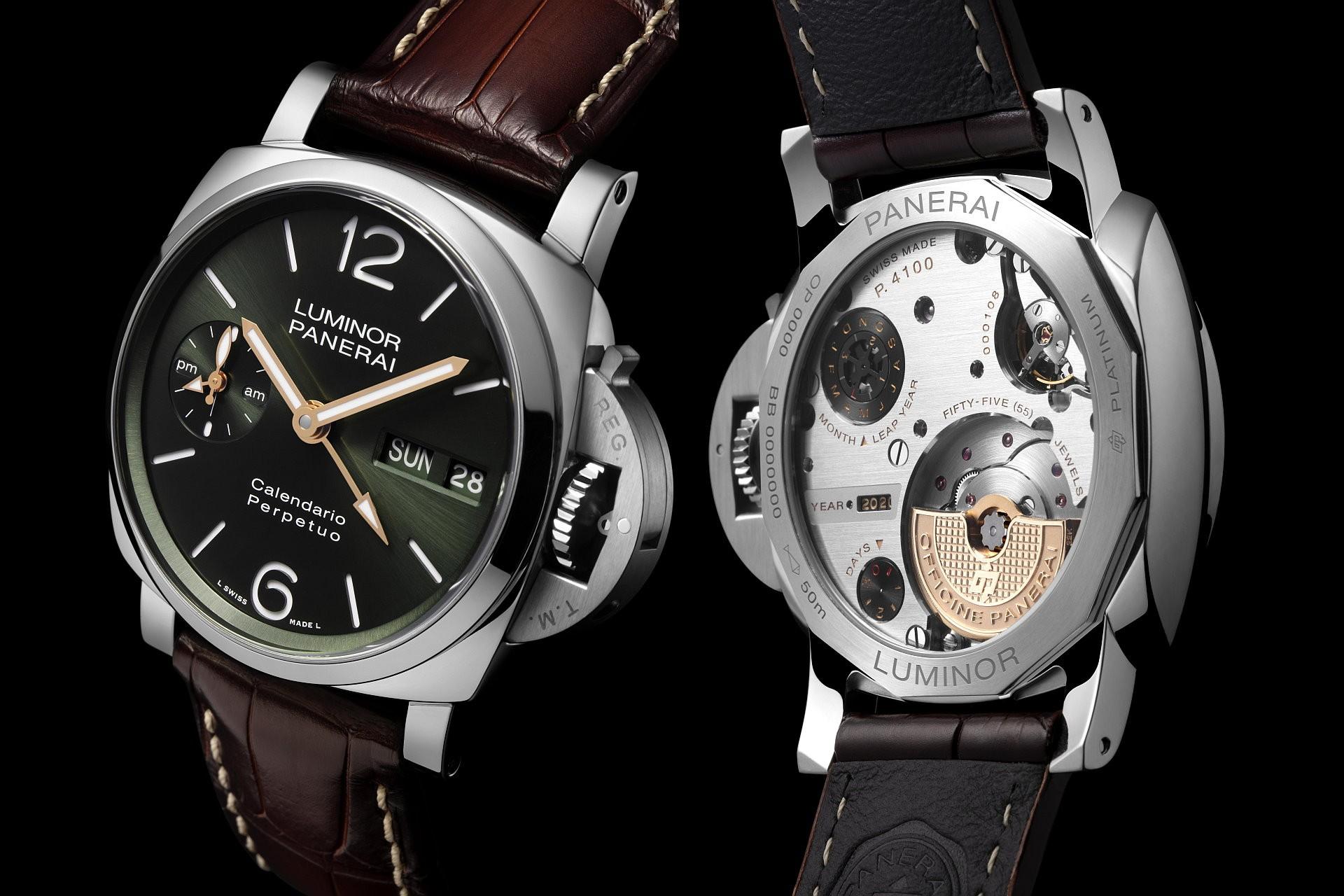 複雜功能又一主角上場,沛納海首度推出 Luminor 萬年曆腕錶 PAM00715與PAM00742