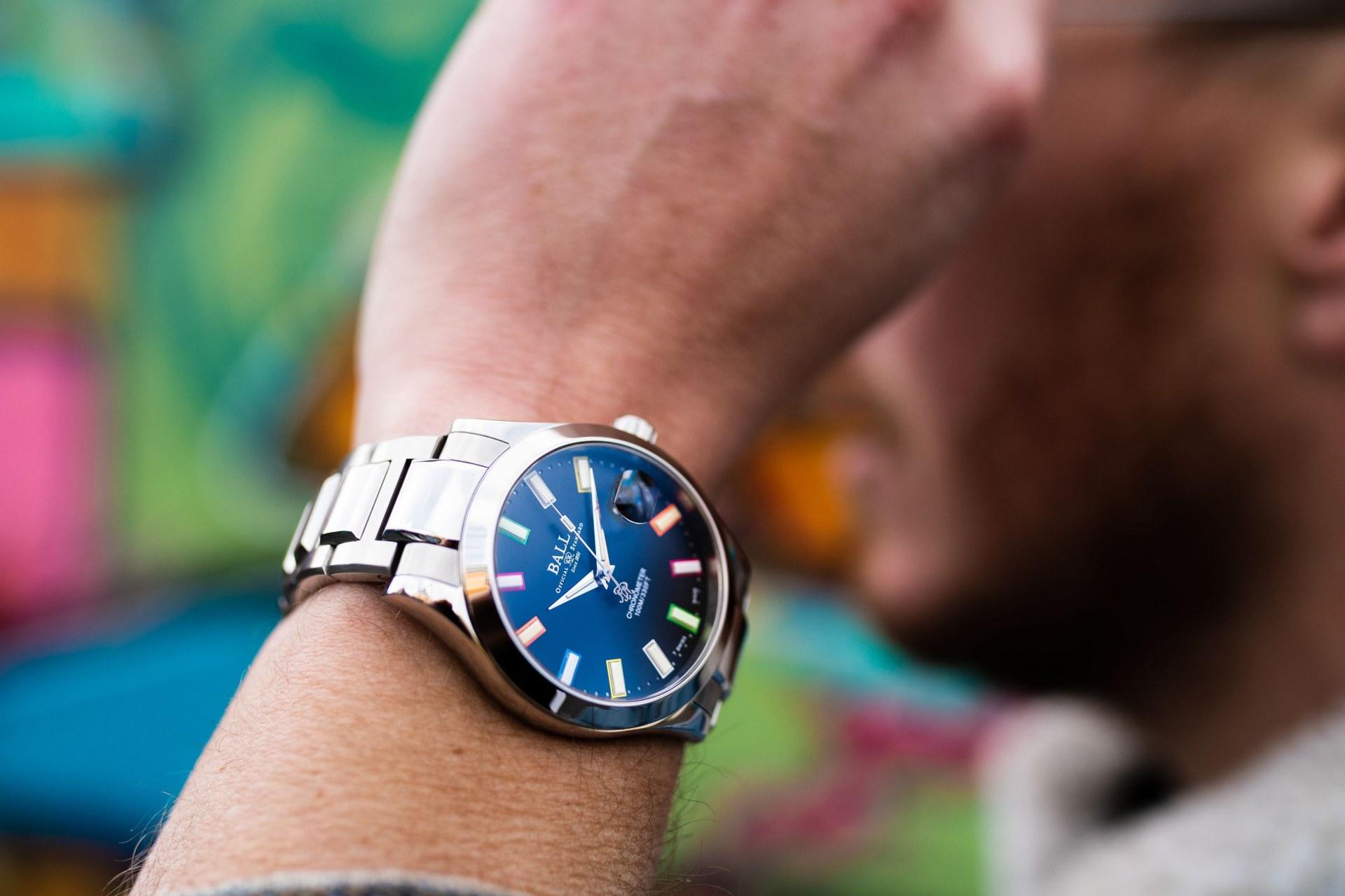 彩虹燈管的力量:BALL Watch Engineer III Marvelight Chronometer