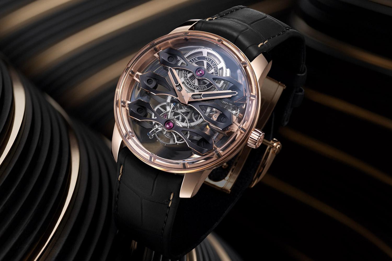 金橋系列最終曲:Girard-Perregaux呈現三飛橋陀飛輪腕錶
