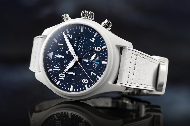 支持全球首次民用太空飛行任務:IWC呈現飛行員計時腕錶「Inspiration4」特別版