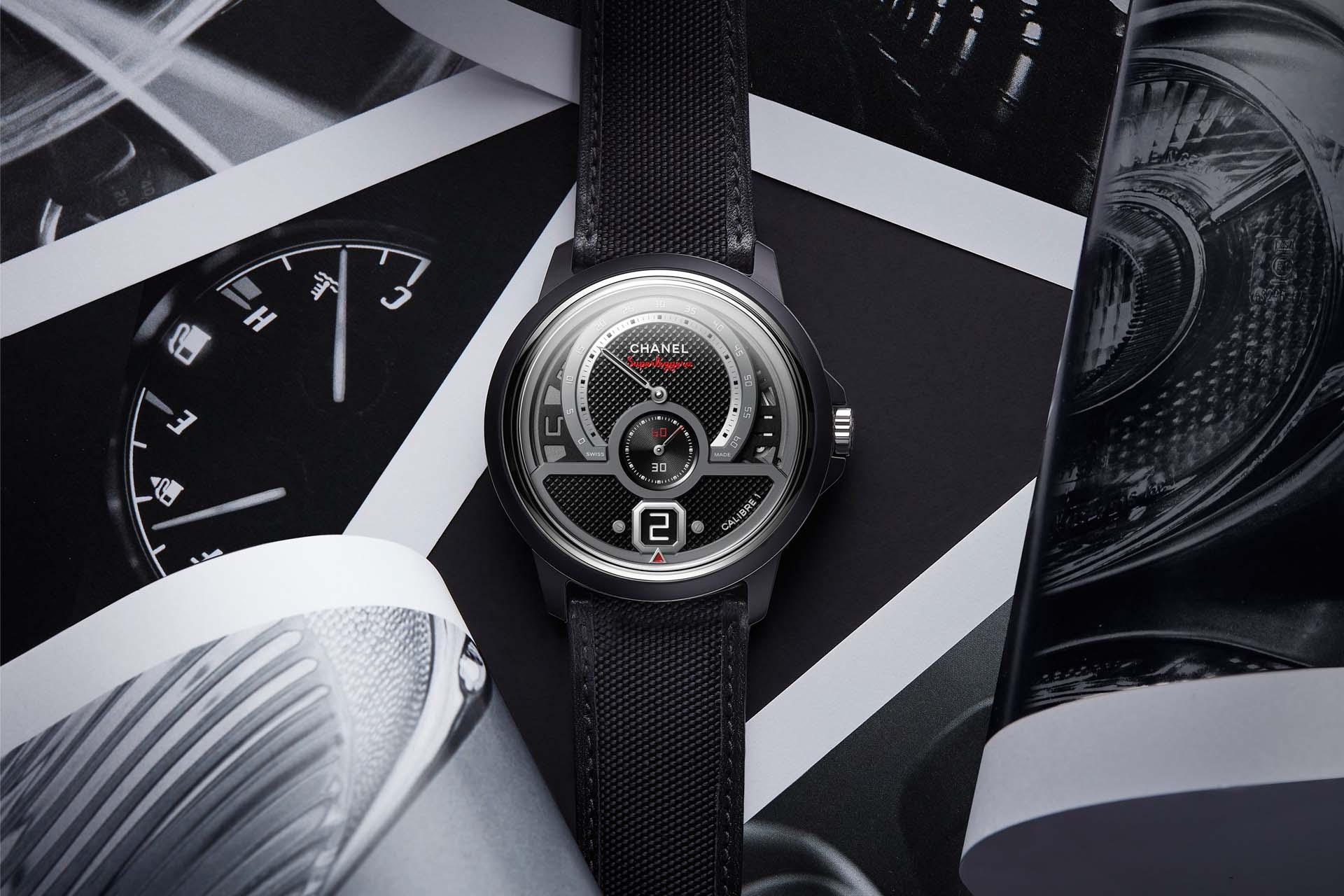 一枚機芯 多重風格:CHANEL全新Monsieur Superleggera腕錶