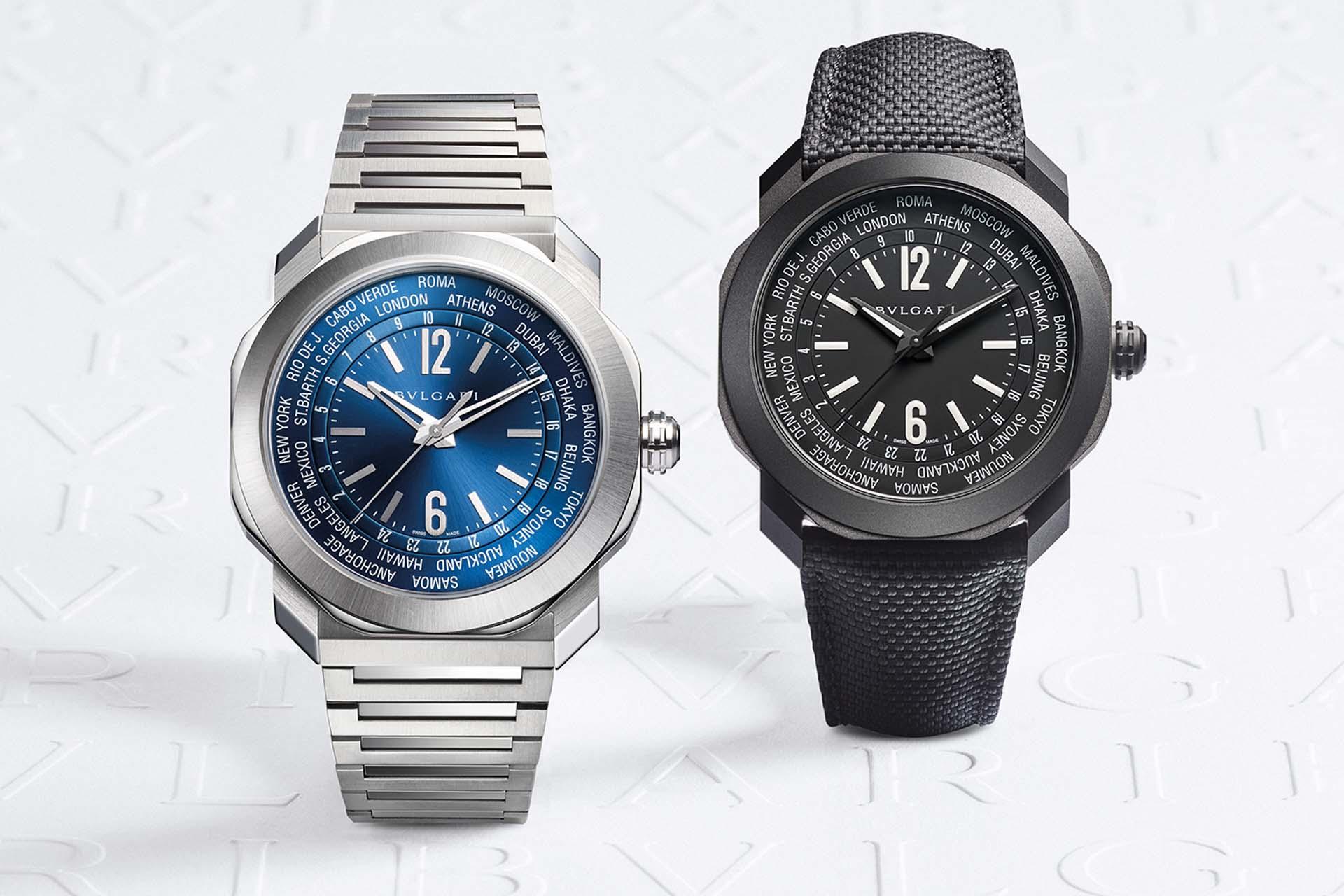 與寶格麗同行:Octo Roma WorldTimer世界時區腕錶