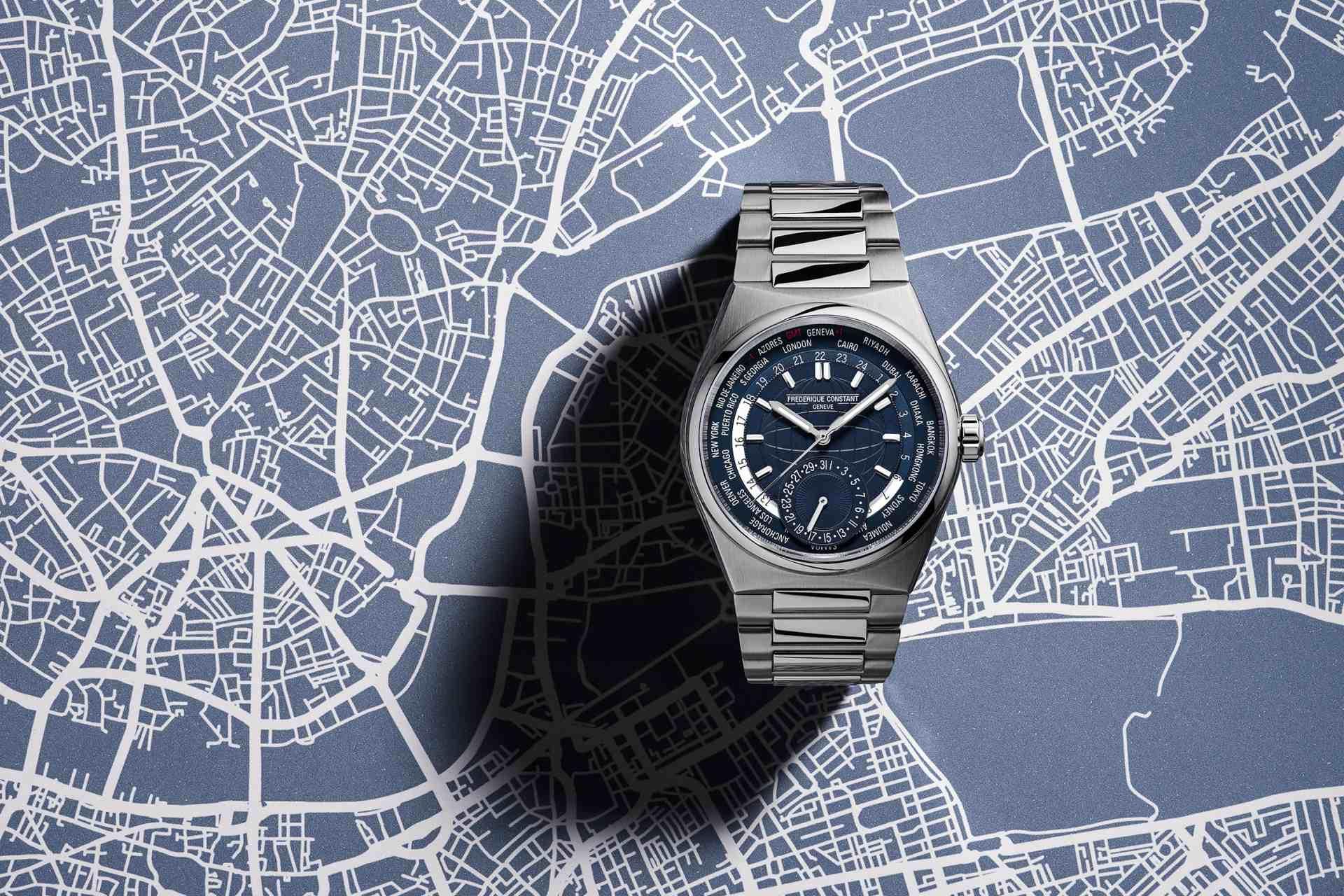 平易近人的奢華旅伴:Highlife Worldtimer Manufacture自製機芯世界時區腕錶