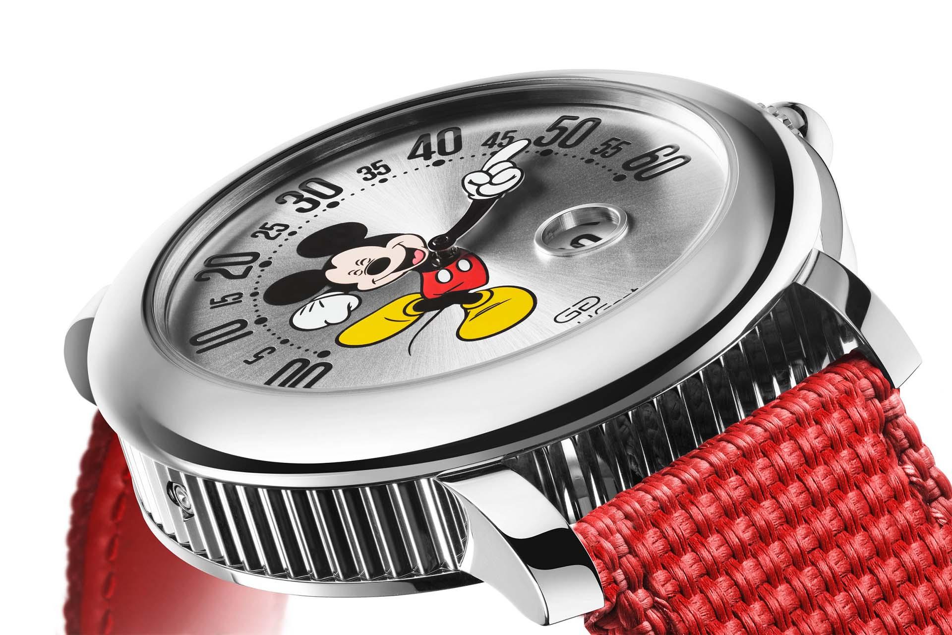 米奇回來了!寶格麗Gérald Genta Mickey Mouse腕錶