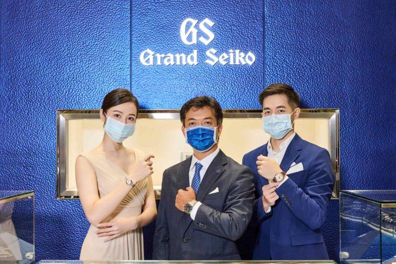 SEIKO創立140周年暨Grand Seiko台北101旗艦店開幕一周年,140周年紀念限定腕錶鑑賞會盛大開展