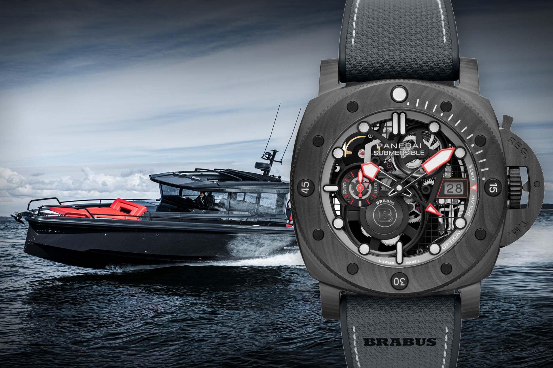 開啟大膽探索之旅:沛納海攜手BRABUS首推Submersible S BRABUS Black Ops專業潛水腕錶 (PAM01240)