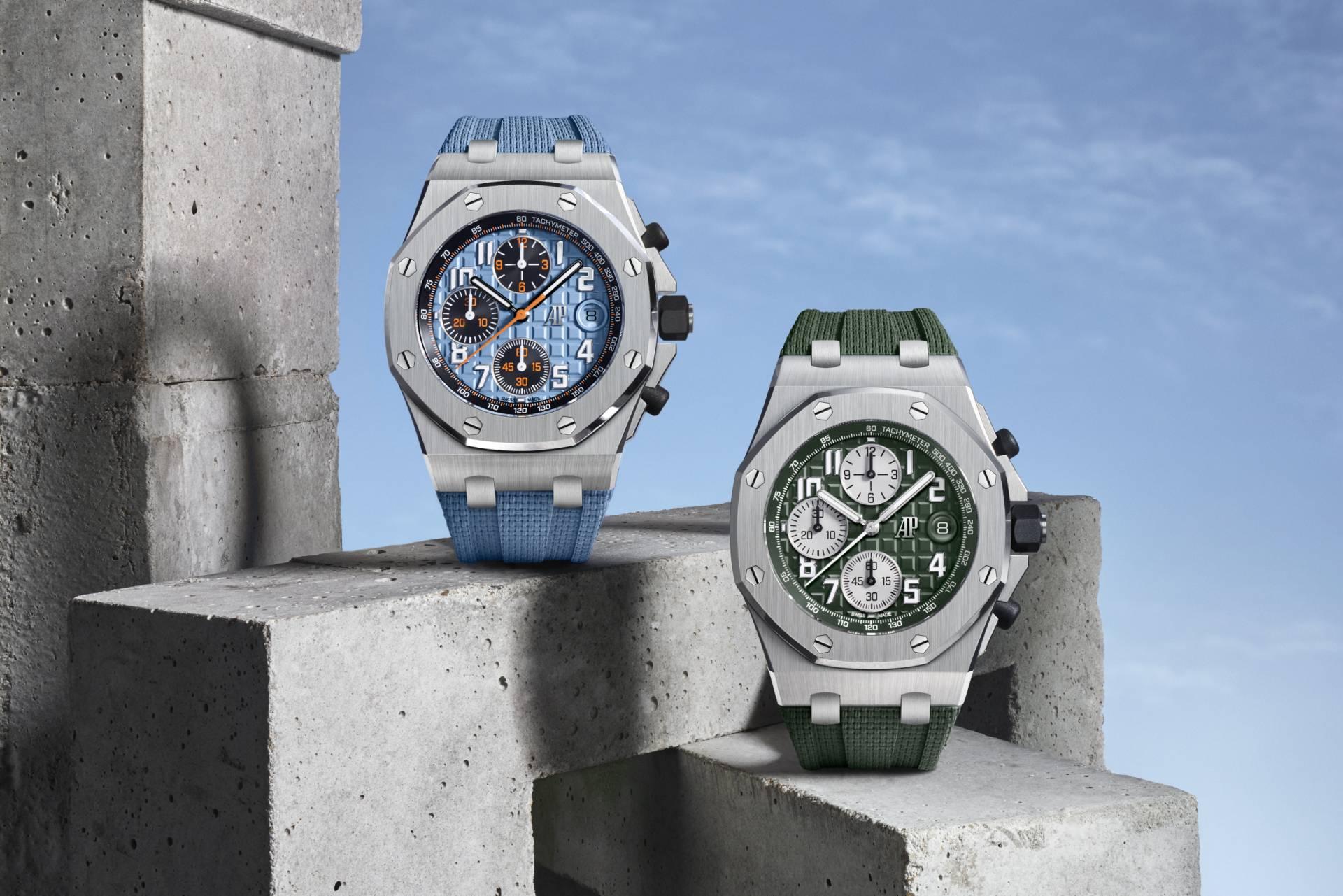 愛彼推出新款42毫米皇家橡樹離岸型自動上鍊計時碼錶