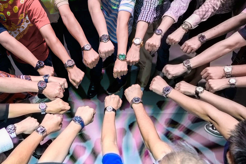 聆聽鐘錶年度趨勢、體驗沉浸式偽出國:多元又新鮮的腕巴錶聚