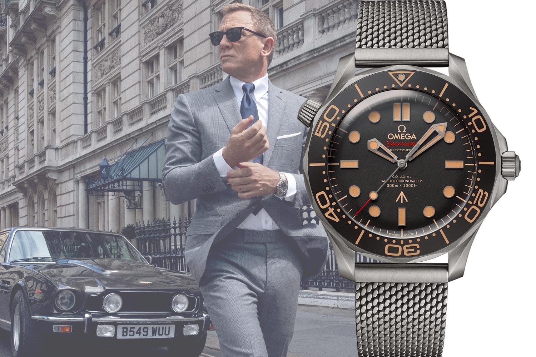 龐德的腕上夥伴:Omega海馬潛水300米腕錶現身《007:生死交戰》