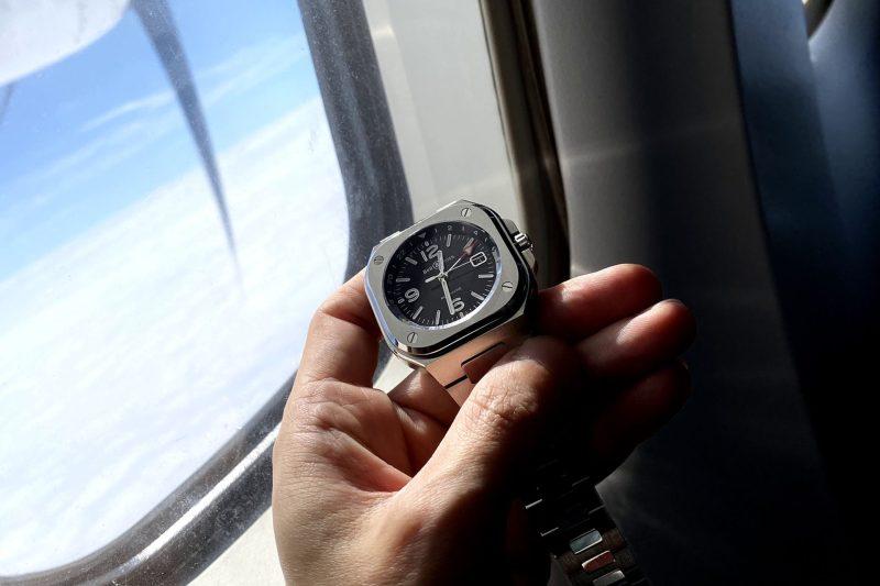 起飛!Bell & Ross全新BR 05 GMT空中賞錶會!