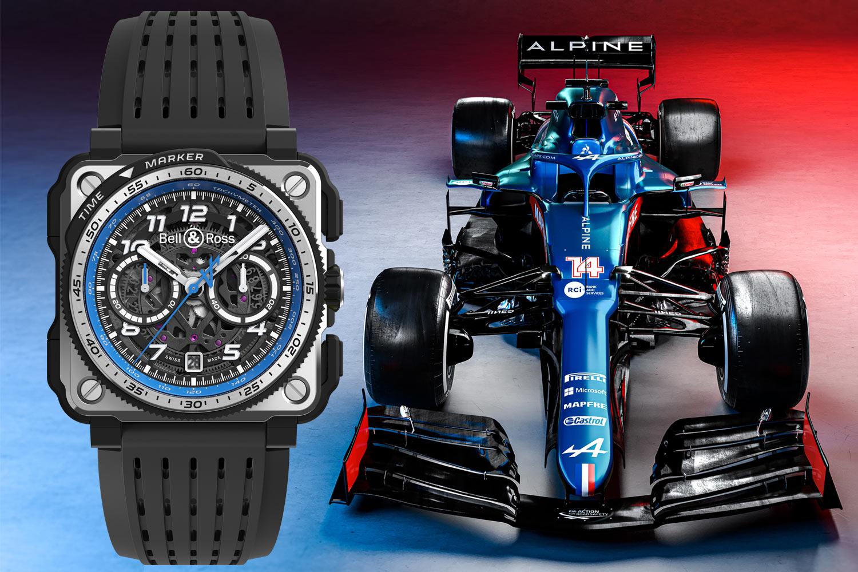 馳騁賽道:Bell & Ross Alpine F1 Team系列腕錶