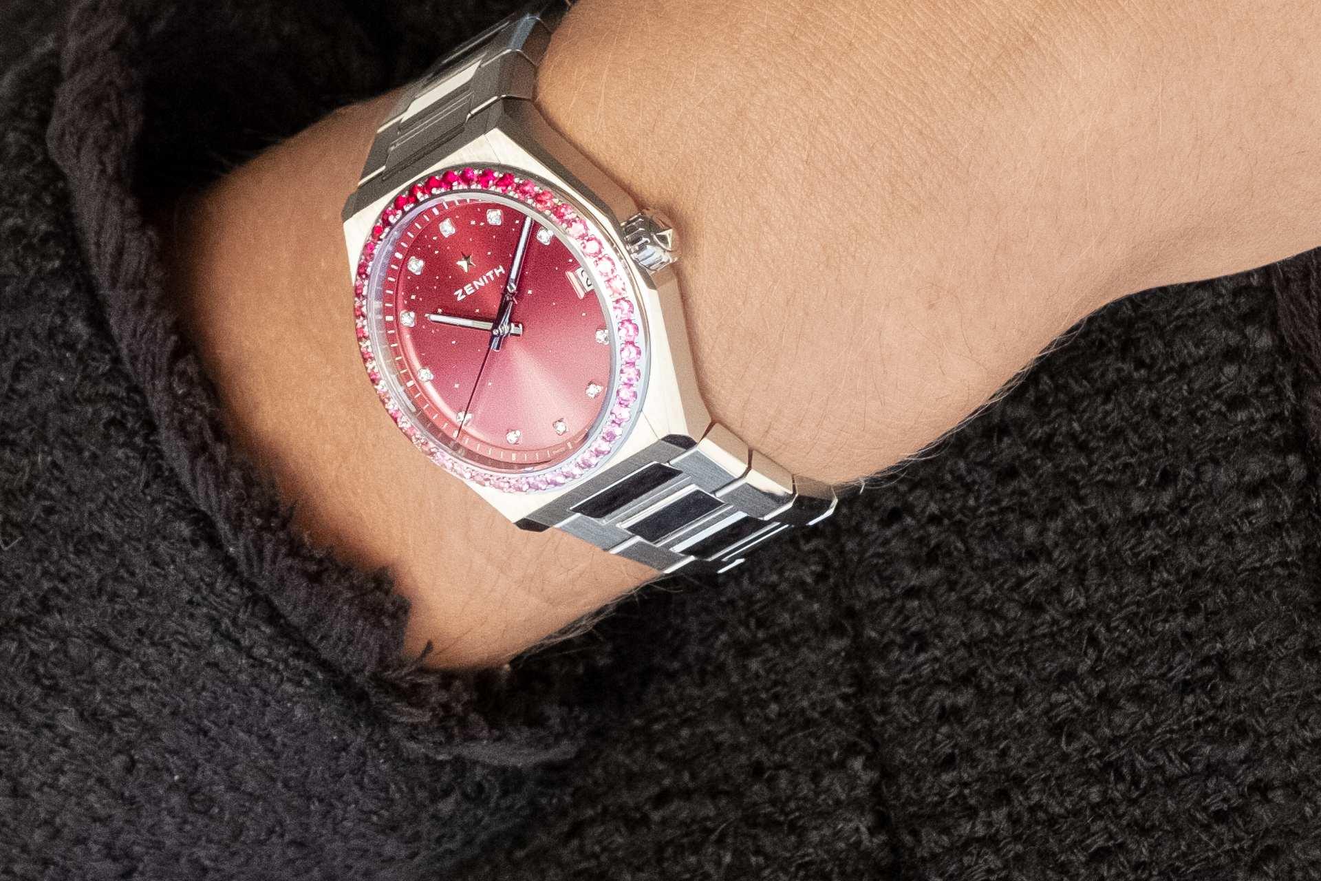 Zenith 為瑞士 Pink Ribbon慈善拍賣會設計 Defy Midnight 獨一無二腕錶,呼籲關注乳癌