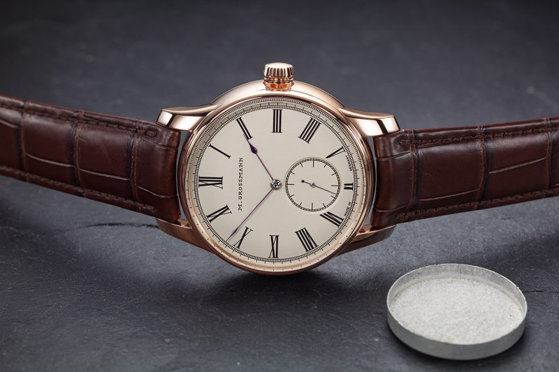 彰顯德式製錶工藝:Moritz Grossmann Hamatic Vintage撞陀腕錶